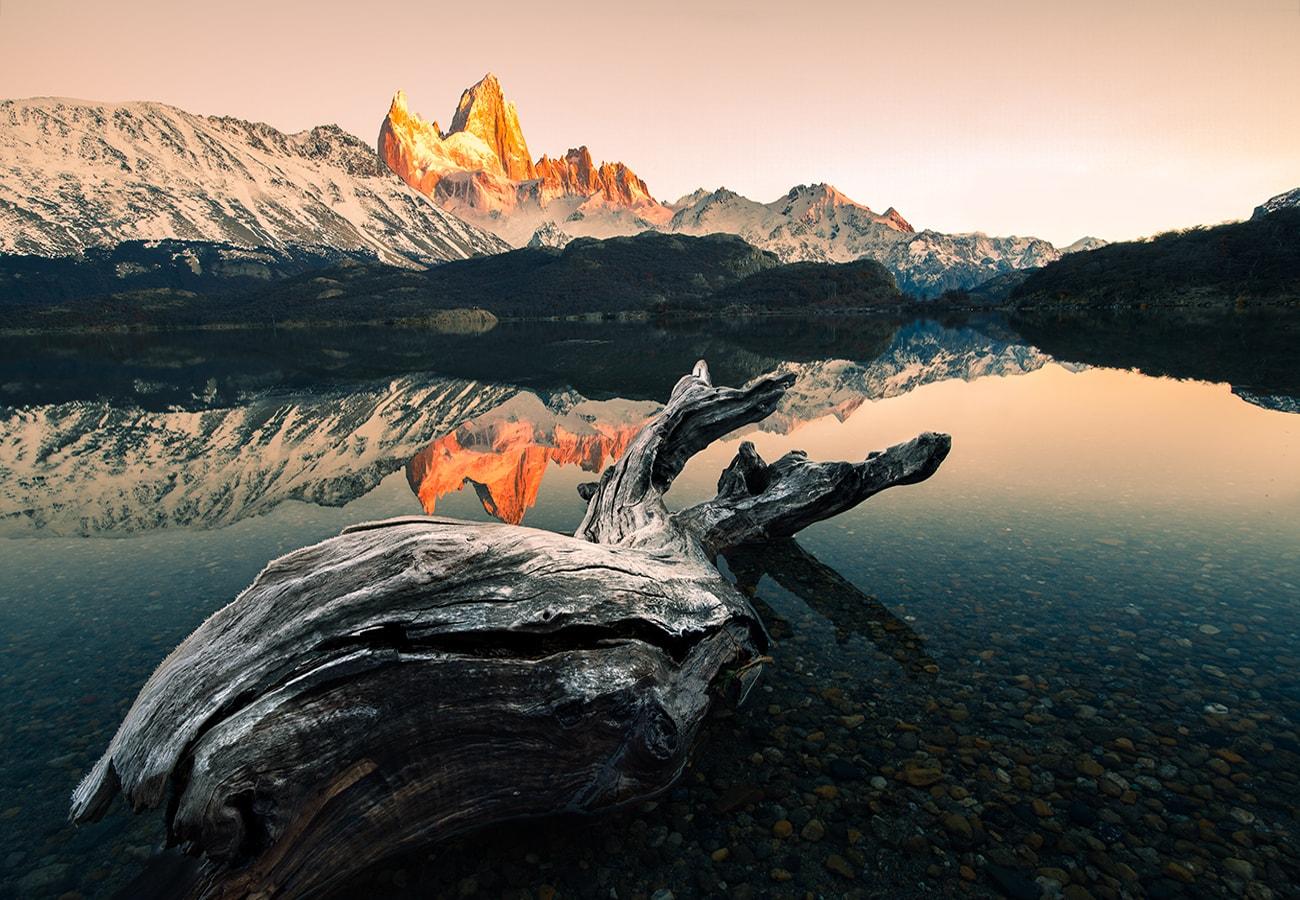 amazing sunrise in laguna capri