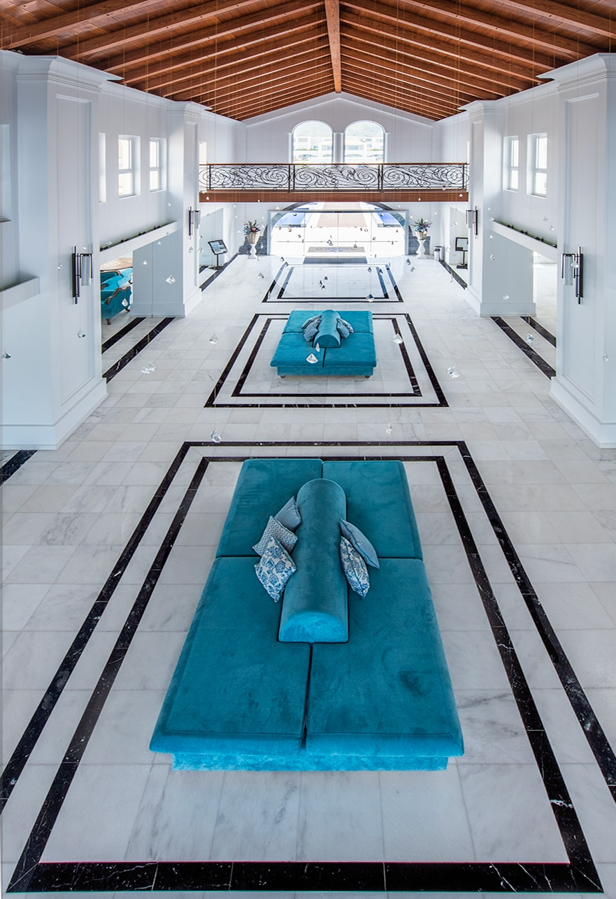 panoramic indoor view