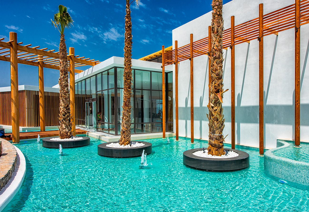 Arcitecture photography hotel in Crete