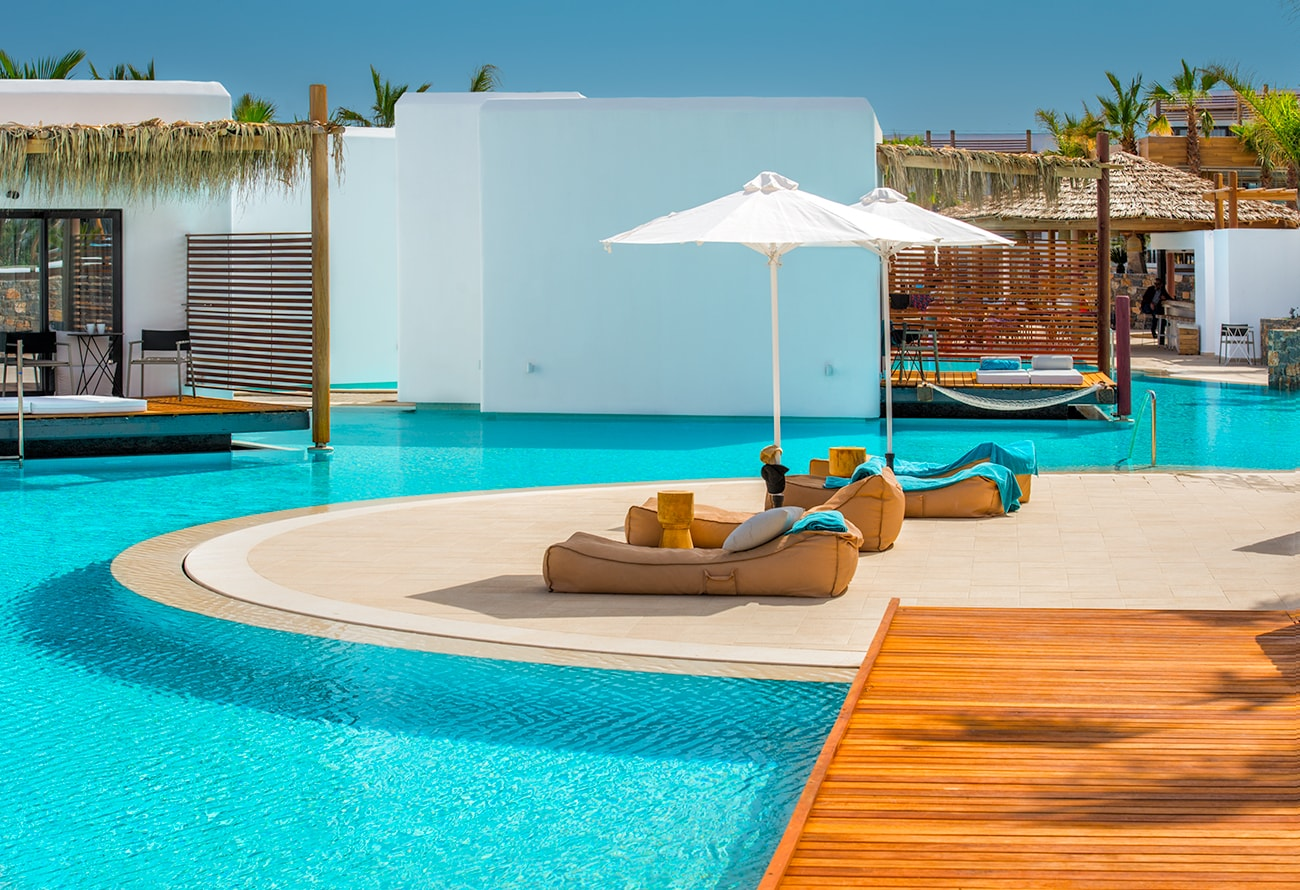 relax at one of the best hotel in Crete