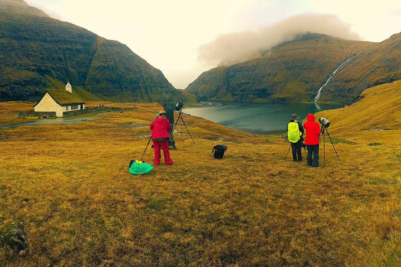 My team during workshop in Faroe islands
