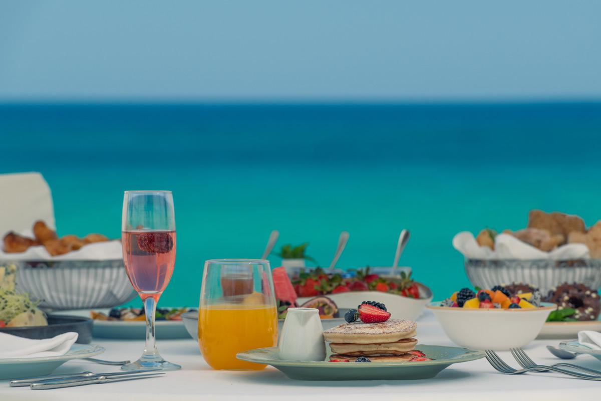 φωτογράφηση φαγητού στο Ikaros beach