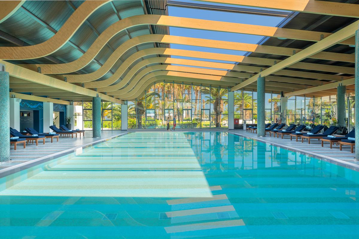lyttos beach indoor pool